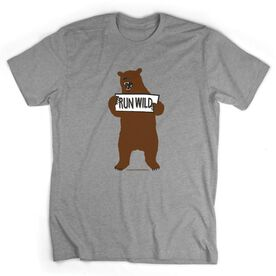Running Short Sleeve T-Shirt - Run Club Run Wild