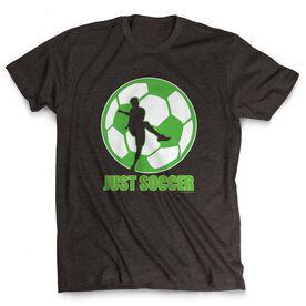 Soccer Tshirt Short Sleeve Just Soccer (Male)
