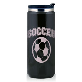 Stainless Steel Travel Mug Soccer Ball