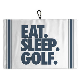 Golf Bag Towel Eat Sleep Golf