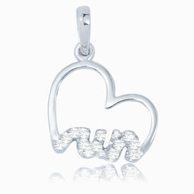 Livia Collection Sterling Silver Heartfelt Run Charm