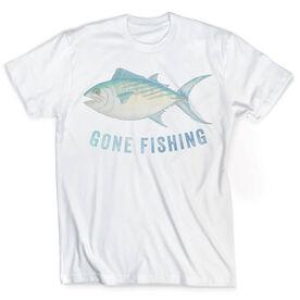 Vintage Fly Fishing T-Shirt - Gone Fishing