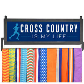 RunnersWALL Cross Country My Life (Male) Medal Display