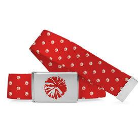 Cheer Lifestyle Belt Pom Pom Polka Dots