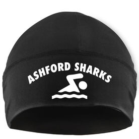 Beanie Performance Hat - Swim Team Name