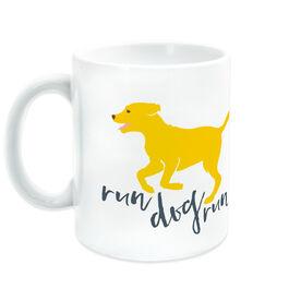 Running Ceramic Mug Run Dog Run