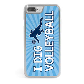 Volleyball iPhone® Case - I Dig Volleyball