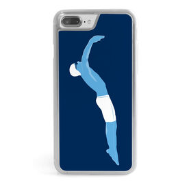 Swimming iPhone® Case - Swimmer Guy