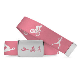 Tri Lifestyle Belt Swim Bike Run Female
