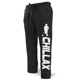 Guys Lacrosse Lounge Pants Chillax Lacrosse Player