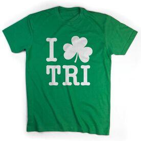 Triathlon Short Sleeve T-Shirt - I Shamrock Tri