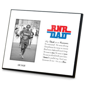 Running Photo Frame - My Dad Is A Runner