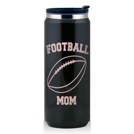 Stainless Steel Travel Mug Football Mom