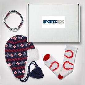 Baseball SportzBox Gift Set- Bases Loaded