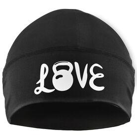 Beanie Performance Hat - Love Kettlebells (White Lettering)