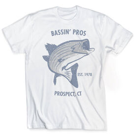 Vintage Fly Fishing T-Shirt - Personalized Striper