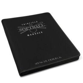 Softball Executive Portfolio - Manager Crest
