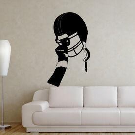 Football Victory Helmet Removable ChalkTalkGraphix Wall Decal