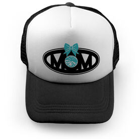 Cheerleading Trucker Hat - Mom with Bow