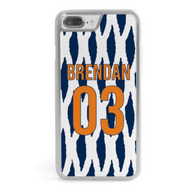 Guys Lacrosse iPhone® Case - Personalized Lacrosse Mesh