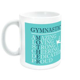 Gymnastics Ceramic Mug - Mother Words (Guy Gymnast)
