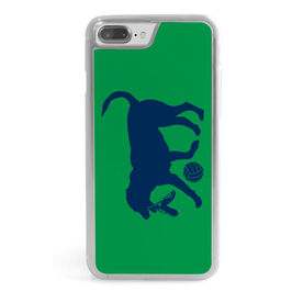 Volleyball iPhone® Case - Holly the Volleyball Dog