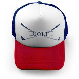 Golf Trucker Hat - Crest