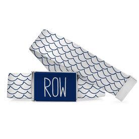Crew Lifestyle Belt Row Hand Drawn Waves