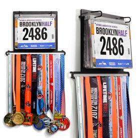 BibFOLIO Plus Race Bib and Medal Display