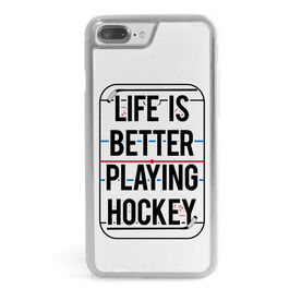 Hockey iPhone® Case - Life Is Better Playing Hockey