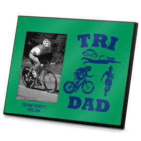 Triathlon Photo Frame Tri Dad
