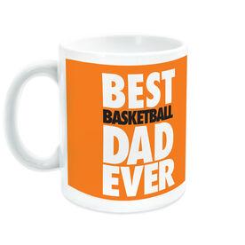 Basketball Ceramic Mug Best Dad Ever