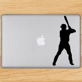 Batter Up Baseball Removable ChalkTalkGraphix Laptop Decal
