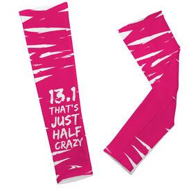 Printed Arm Sleeves 13.1 That's Just Half Crazy