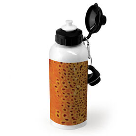 Fly Fishing 20 oz. Stainless Steel Bottle Brown Trout