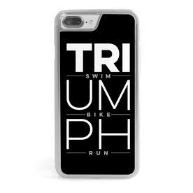 Triathlon iPhone® Case - Triumph Swim Bike Run