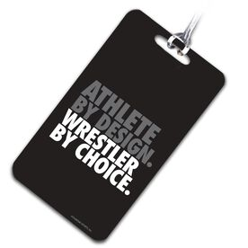 Wrestling Bag/Luggage Tag Athlete By Design