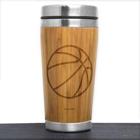 Bamboo Travel Tumbler Basketball Ball