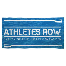 Crew Beach Towel Athletes Row