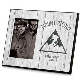 Skiing Photo Frame Resort State Year SKI