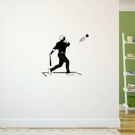 Home Run Swing Baseball Removable ChalkTalkGraphix Wall Decal