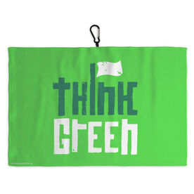 Golf Bag Towel Think Green