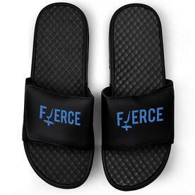 Gymnastics Black Slide Sandals - Fierce
