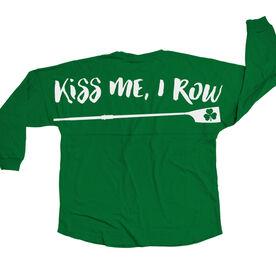 Crew Statement Jersey Shirt Kiss Me I Row