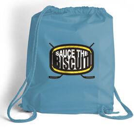 Hockey Sport Pack Cinch Sack Sauce the Biscuit