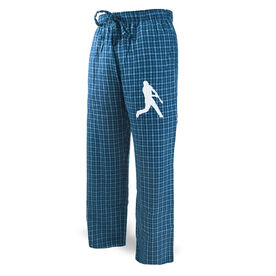Baseball Lounge Pants Baseball Silhouette