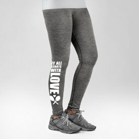Tennis Performance Tights It All Starts With Love