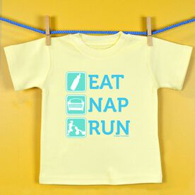 Baby T-shirt Eat Nap Run