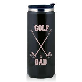 Stainless Steel Travel Mug Golf Dad