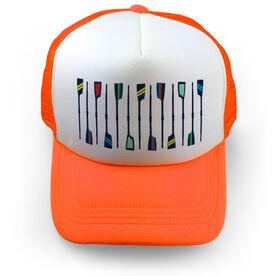 Crew Trucker Hat - Oar Pattern